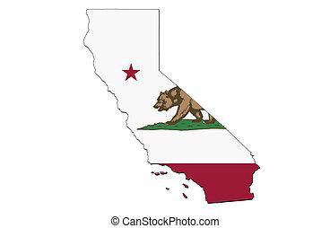 estado, califórnia