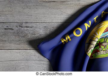 estado de montana, bandera
