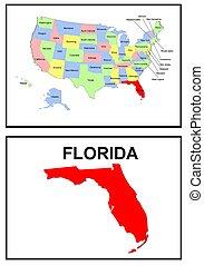 estado, florida, estados unidos de américa