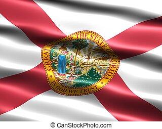 estado, florida, flag: