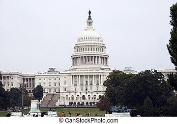 estados, capitol, unidas, c.c. washington