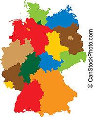estados, de, alemanha
