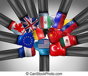 estados, internacional, unidas, competição