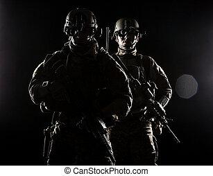 estados, rangers, unidas, exército