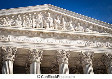estados, supremo, unido, tribunal, américa