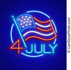 estados, unidas, dia, américa, independência