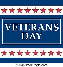 estados, unidas, dia veterans, américa