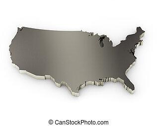estados, unido, américa