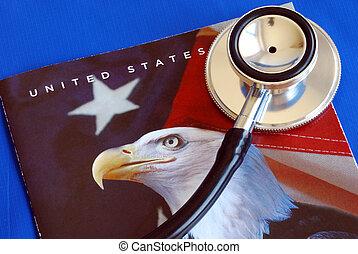 estados, unido, asistencia médica, reform