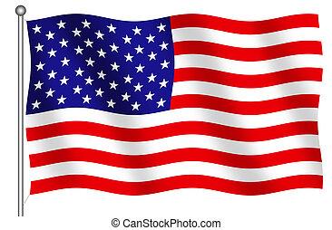 estados unidos américa, bandeira
