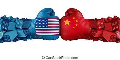 estados unidos, comercio, desafío, china
