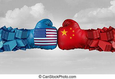 estados unidos de américa, desafío, comercio, china