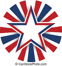 estados unidos de américa, estrella, celebración