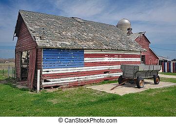 estados unidos de américa, granero
