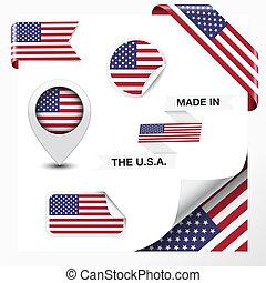 estados unidos de américa, hecho, colección