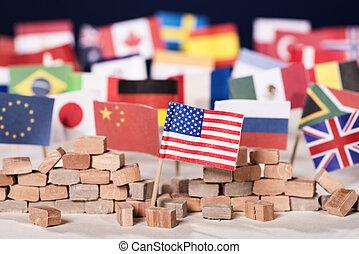 estados unidos de américa, protectionism