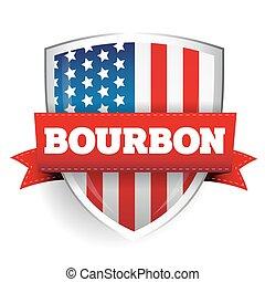 estados unidos de américa, protector, whisky americano, cinta, bandera