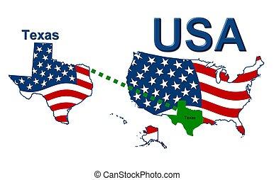 estados unidos de américa, rayas, estado, diseño, estrellas,...
