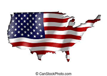 estados, (united, america), eua