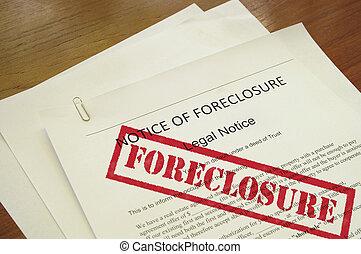 estampado, hipoteca, texto, ejecución hipoteca, documento, ...