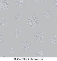estampando, inverno, pattern., seamless, experiência., vetorial, snowflake