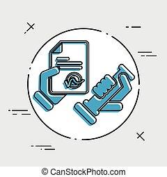 estampe ícone