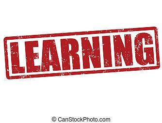 estampilla, aprendizaje
