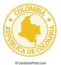 estampilla, colombia