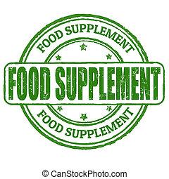 estampilla del alimento, suplemento
