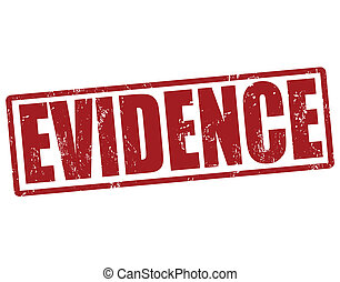 estampilla, evidencia