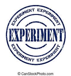 estampilla, experimento