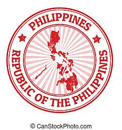 estampilla, filipinas