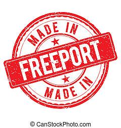 estampilla, freeport, hecho