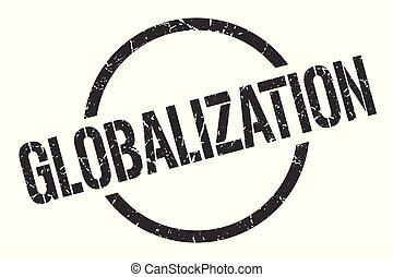 estampilla, globalización