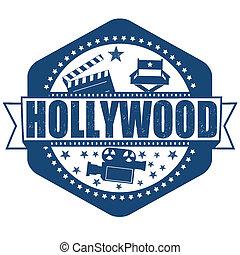 estampilla, hollywood