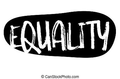 estampilla, igualdad, typ