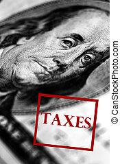 estampilla, impuestos