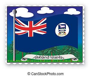 estampilla, islas malvinas