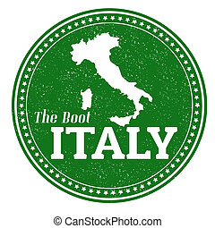 estampilla, italia