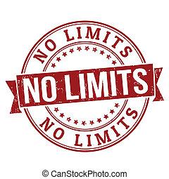 estampilla, límites, no