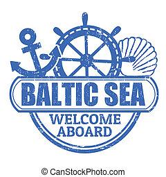estampilla, mar báltico