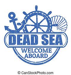 estampilla, mar muerto