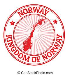estampilla, noruega