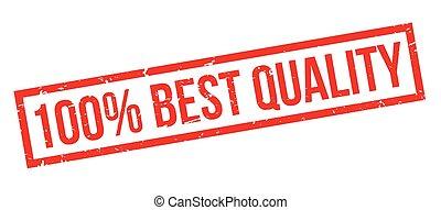 estampilla, porcentaje, caucho, 100, calidad, mejor