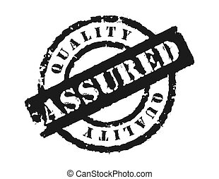 estampilla, \\\'quality, assured\\\'