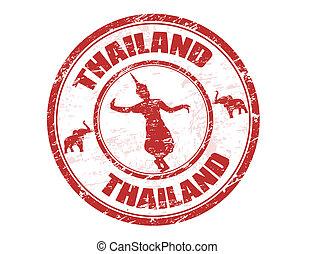 estampilla, tailandia