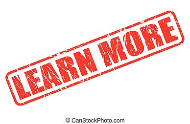 estampilla, texto, aprender, rojo, más