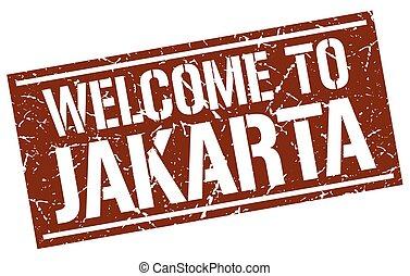 estampilla, yakarta, bienvenida
