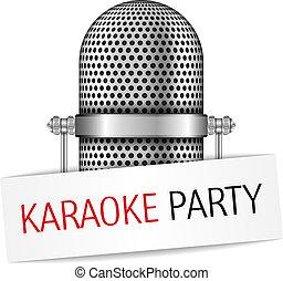 estandarte de la fiesta, karaoke