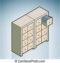 estante, carpeta, estante, /